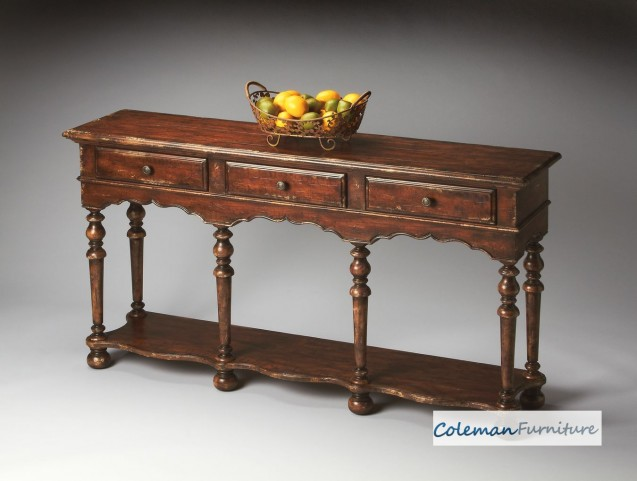 Tobacco Leaf 3046228 Console Table