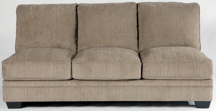 Katisha Platinum Armless Sofa
