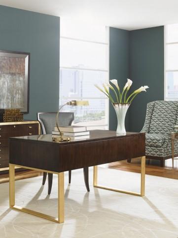 Bel Aire Walnut Melrose Writing Desk