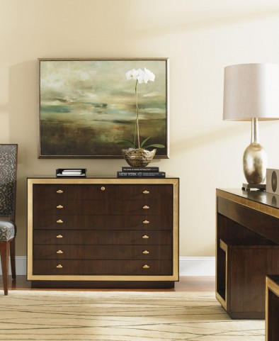 Bel Aire Walnut Beverly Palms File Chest