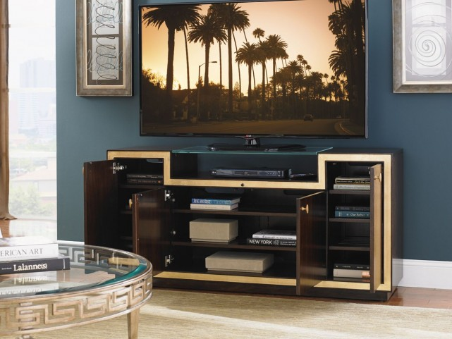 "Bel Aire Walnut Palisades 65"" Media Console"