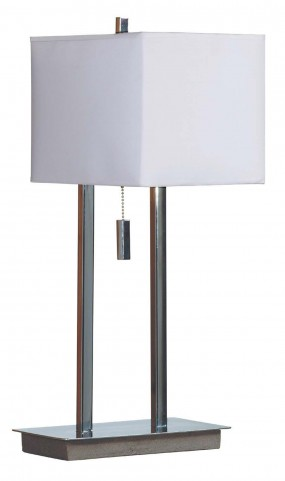Emilio Chrome Accent Lamp
