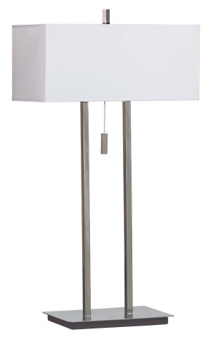 Emilio Chrome Table Lamp