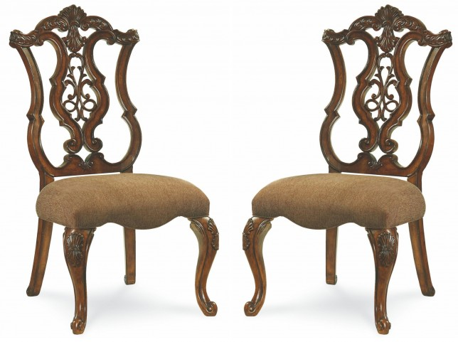 Pemberleigh Pierced Back Side Chair Set of 2