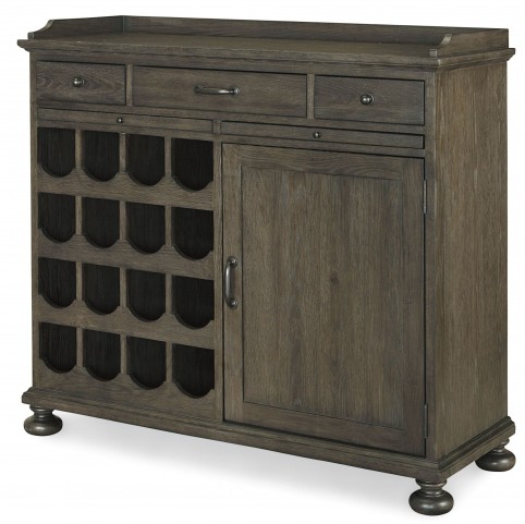 Berkeley3 Brownstone Small Wine Cabinet
