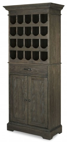 Berkeley3 Brownstone Tall Wine Cabinet