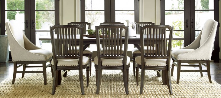 Great Rooms Brownstone Kitchen Extendable Dining Room Set