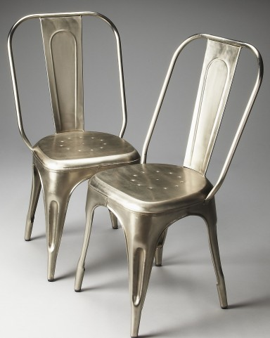 Garcon Industrial Chic Metalworks Side Chair