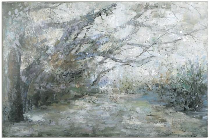 Forest Lane Canvas Art