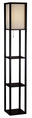 Wright Black Tall Floor Lamp
