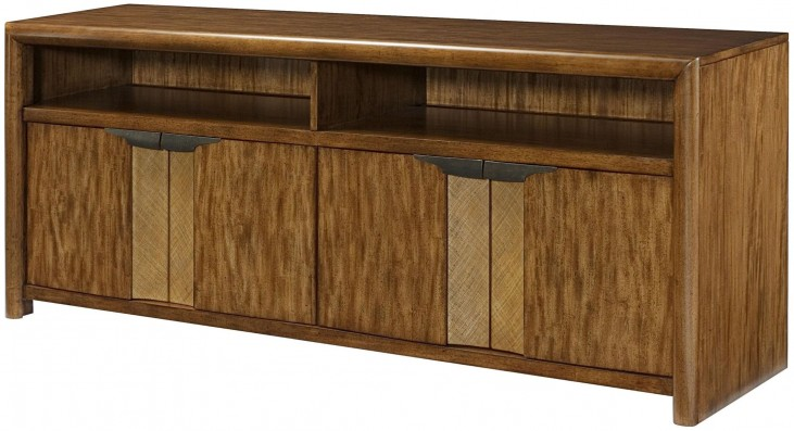 Grove Point Warm Khaki Entertainment Console