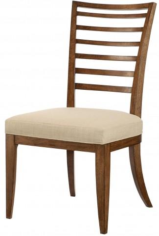 Grove Point Warm Khaki Ladder Back Side Chair