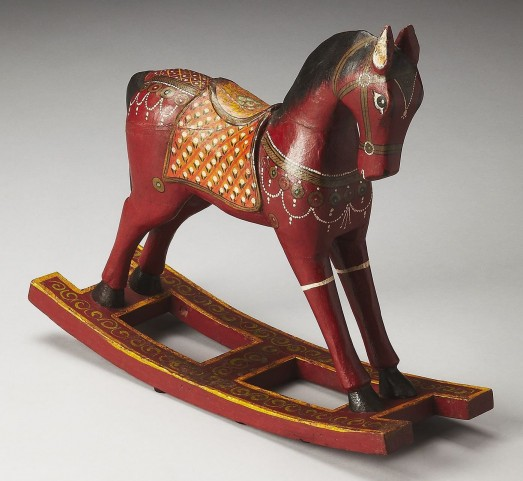 Marwari Hors D'Oeuvres Rocking Horse