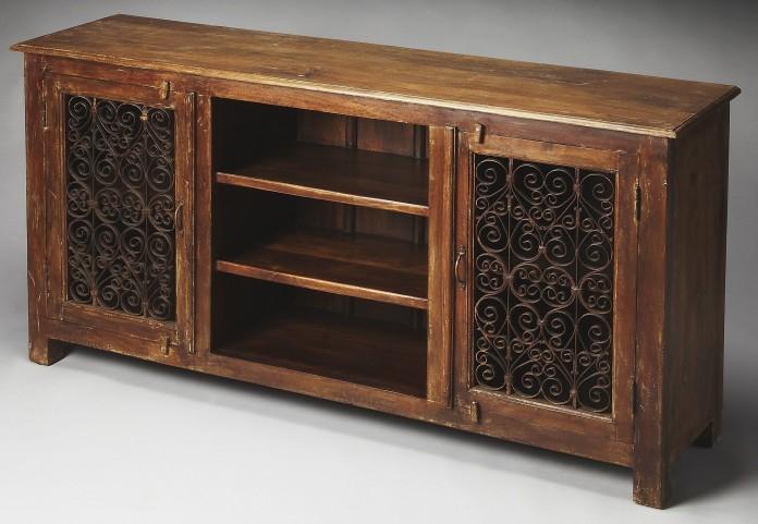 Hacienda Artifacts Console Cabinet