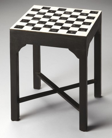 3204070 Bishop Bone Inlay Heritage Bunching Chess Table
