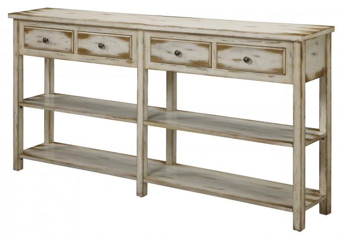 Four Drawer Console 32062