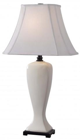 Onoko Pearlized White Table Lamp