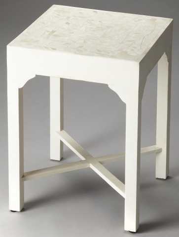 3209070 Vanessa Bone Inlay Heritage Bunching Table