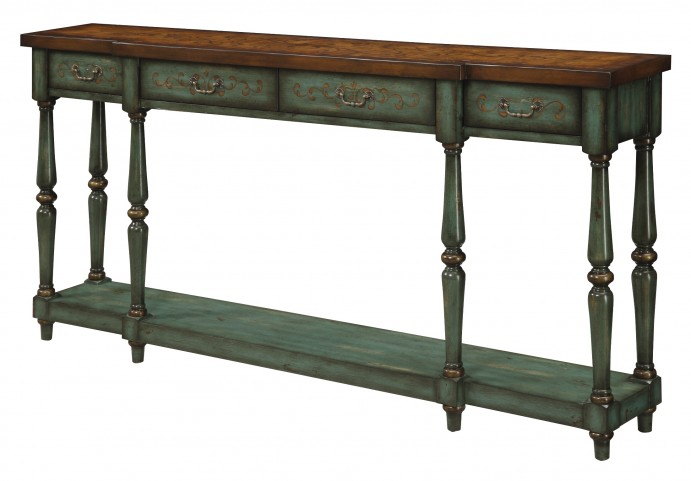 Four Drawer Console 32095