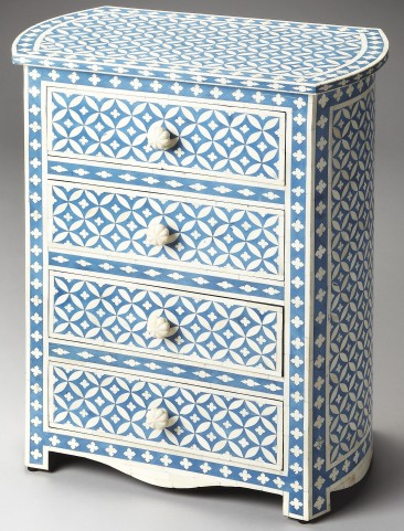 Amelia Bone Inlay Heritage Accent Chest