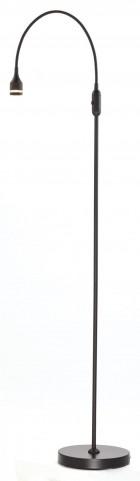 Prospect Black Led Floor Lamp