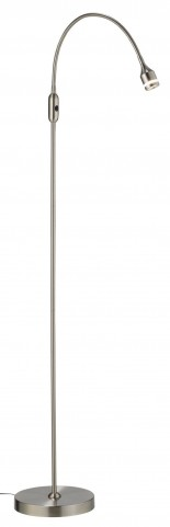 Prospect Steel Led Floor Lamp