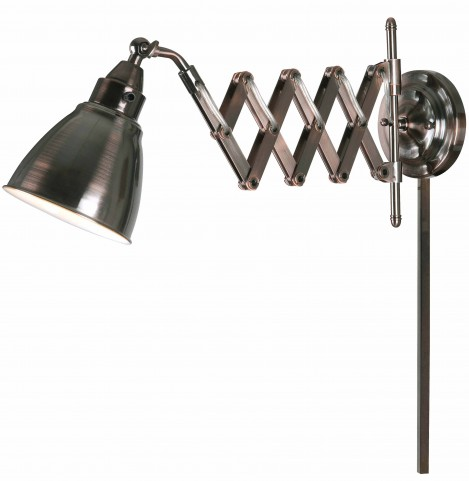 Floren Copper Bronze Swing Arm Lamp