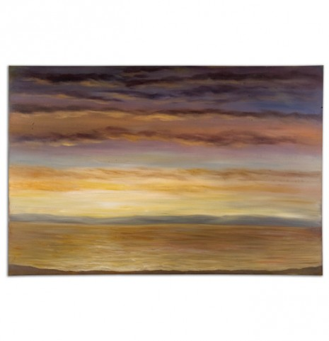 Spacious Skies Hand Painted Wall Art