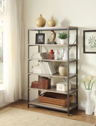 "Daria Grey 40"" Bookcase"