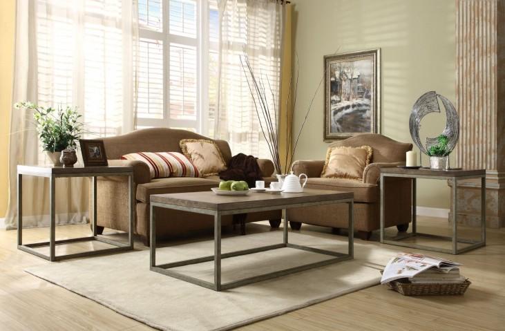 Daria Grey Occasional Table Set