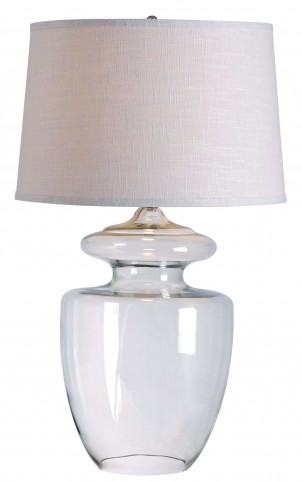 Apothecary Clear Glass Table Lamp