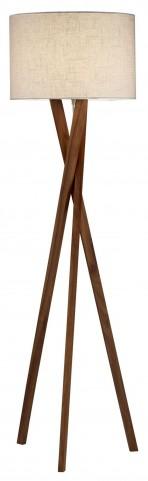 Brooklyn Walnut Floor Lamp