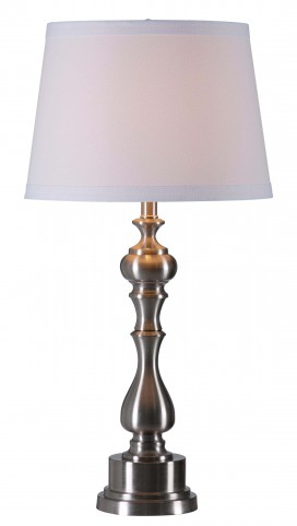 Chatham Brushed Steel Table Lamp