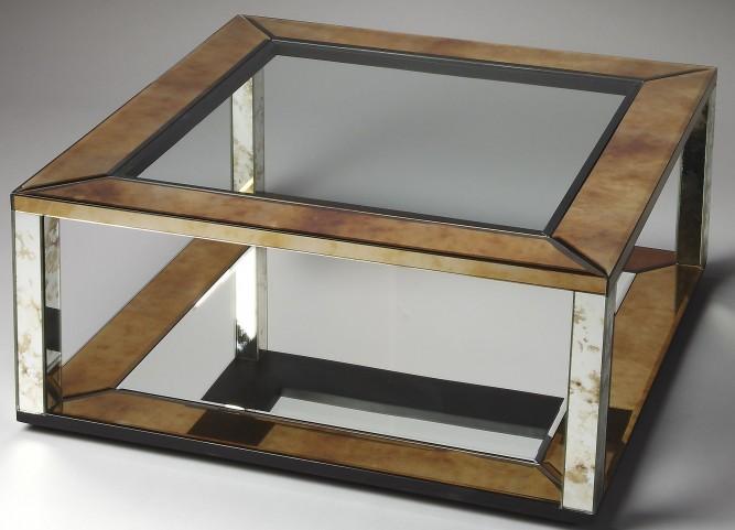 Manhattan Loft Mirror Cocktail Table