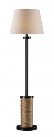 Landfall Solar Outdoor Floor Lamp