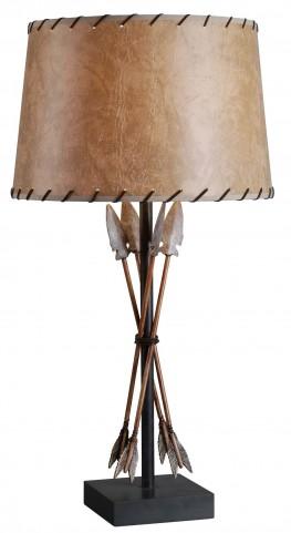 Bound Arrow Table Lamp