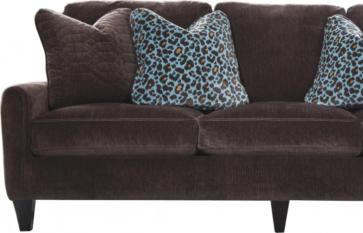 Mulholland Chocolate Loveseat