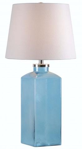 Juniper Blue Table Lamp