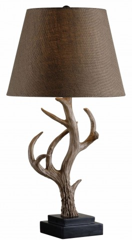 Buckhorn Antler Table Lamp