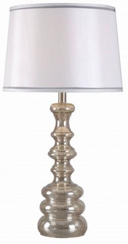 Ripling Acid Mercury Table Lamp