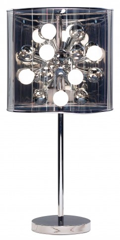 Starburst Steel Table Lamp