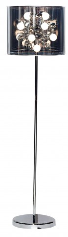 Starburst Steel Floor Lamp