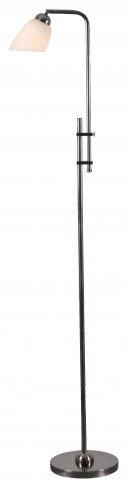 Extender Dark Aged Burnished Floor Lamp