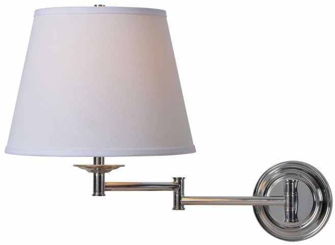 Architect Series Chrome Wall Swing Arm Lamp