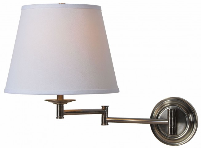Architect Series Dark Antique Brass Wall Swing Arm Lamp