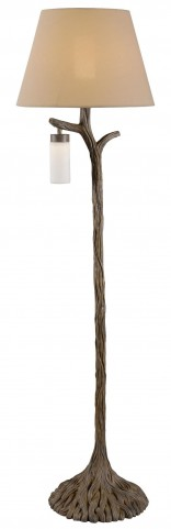 Banyan Driftwood Outdoor Floor Lamp