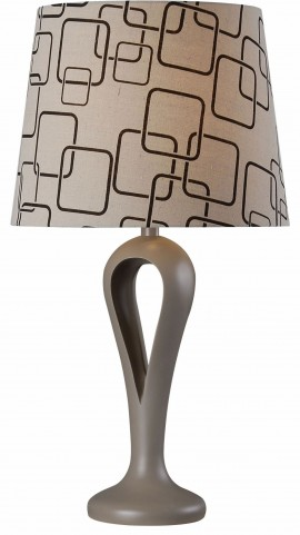 Parfume Gray Table Lamp