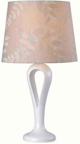 Parfume White Table Lamp