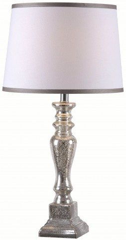 Taylor Acid Mercury Glass Table Lamp