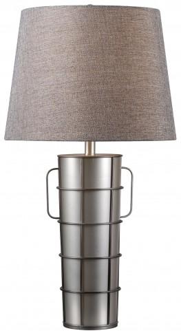 Vaso Galvanized Metal Table Lamp
